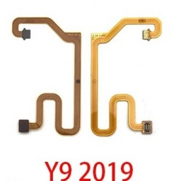 FLEX HUAWEI Y9 2019 JKM-LX3 (CONEXION DE BOTON HOME A PLACA MADRE)