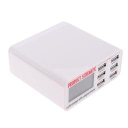CARGADOR RAPIDO 3.0 (CON 6 SALIDAS USB)
