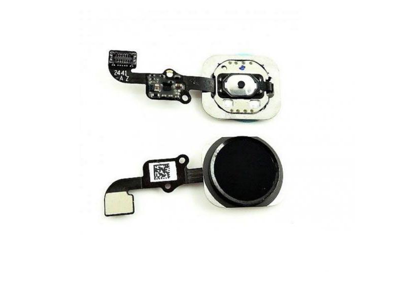 FLEX IPHONE 6G / 6 PLUS (HOME NEGRO)